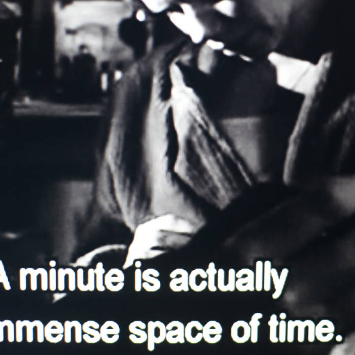 A minute is actually an immense space of time. cover art