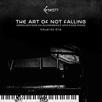 The art of not falling - Improvisations on Schoenberg's Op19 piano pieces cover art