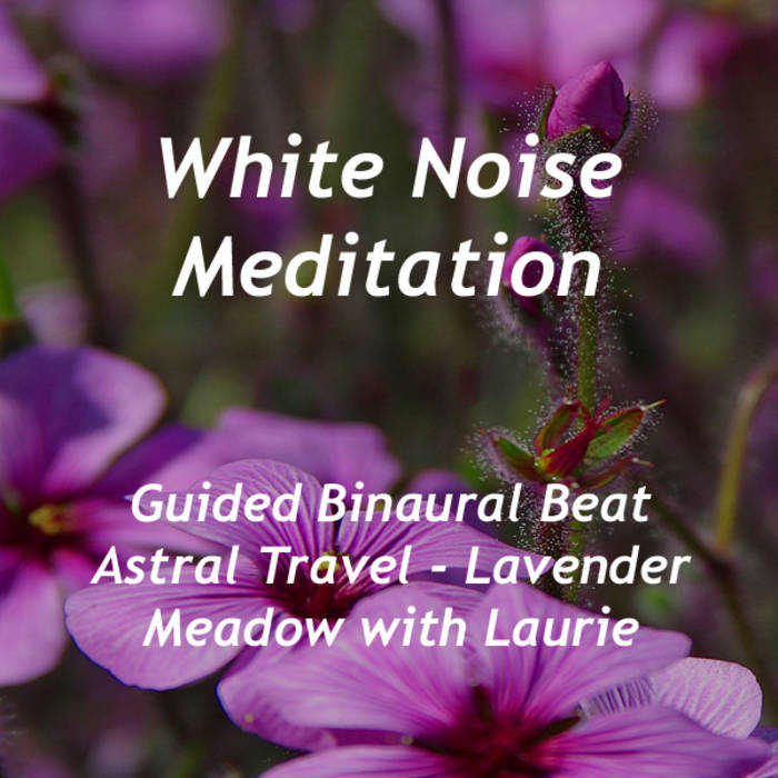 Guided Binaural Beat Astral Travel - Lavender Meadow with Laurie