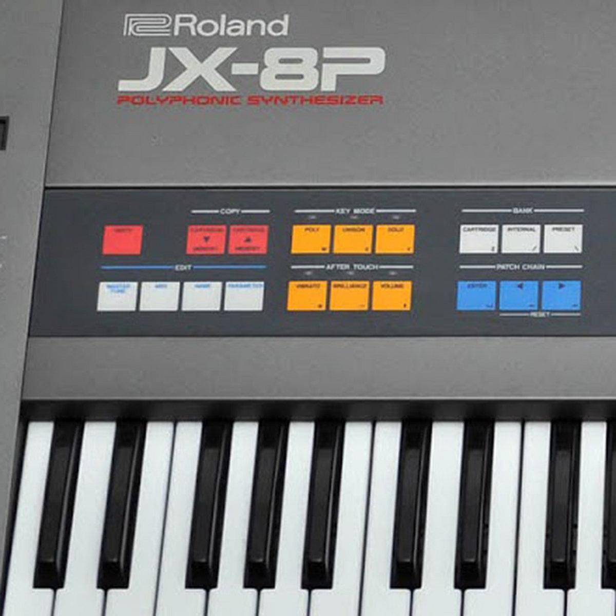 ROLAND JX-8P | Vintage Synth Samples