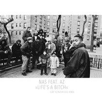NAS feat. AZ » LIFE'S A BITCH RMX « cover art