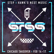 STS9 X Hawk's Nest Playlist cover art