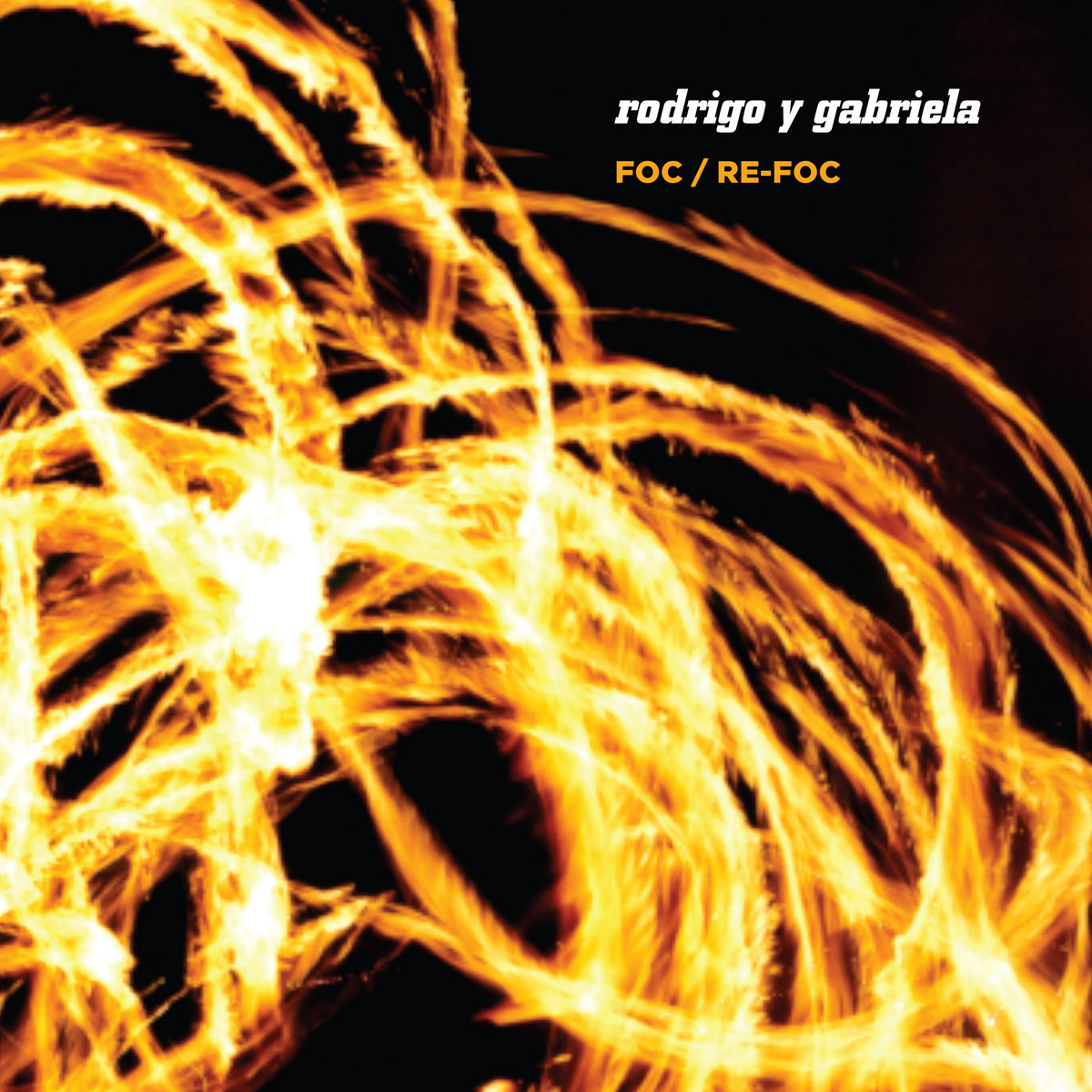 Rodrigo Y Gabriela Album Cover