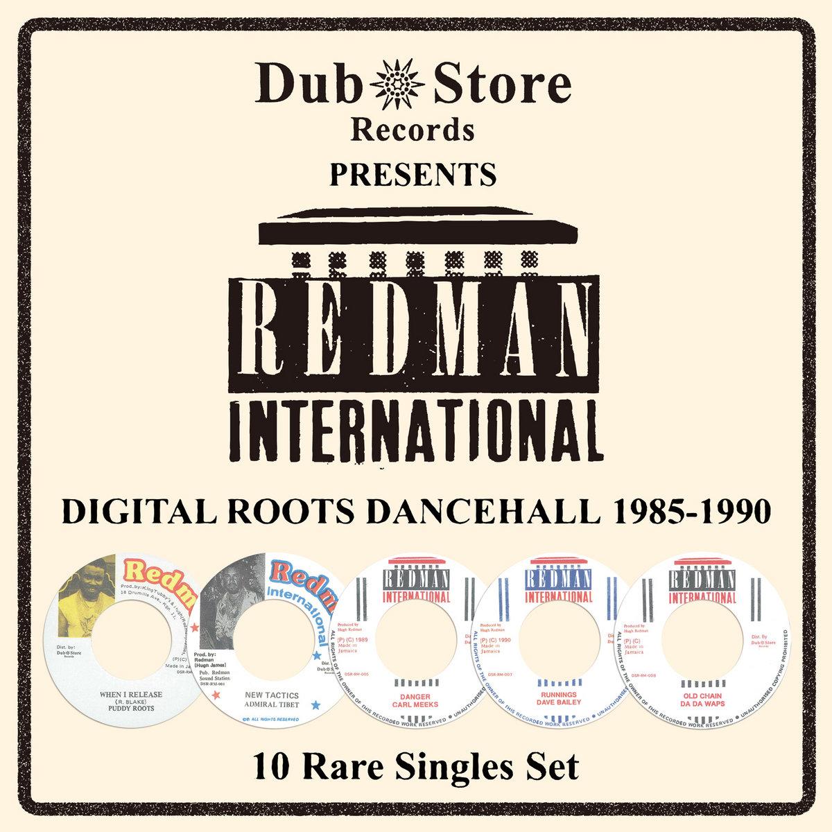 Redman International: Digital Roots Dancehall 1985 to 1990 - 10 Rare