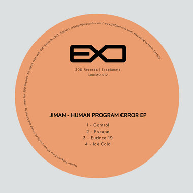 Human Program €rror EP [30DEXO-012] main photo