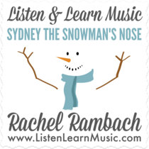Sydney the Snowman's Nose cover art