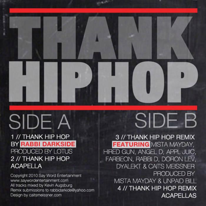 Thank Hip Hop (Digital Single)   Rabbi Darkside
