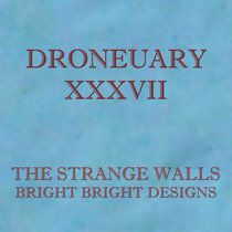 Droneuary XXXVII - Bright Bright Designs cover art