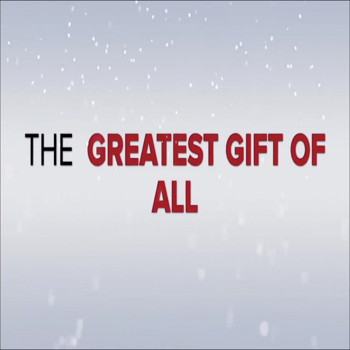The Greatest Gift of All by Kevin Ray Nichols