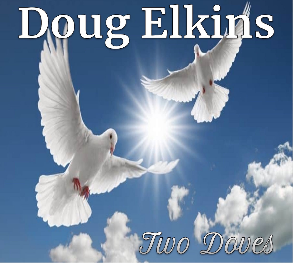 Two Doves by Doug Elkins