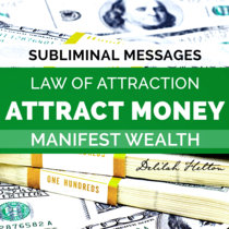Attract Money - Subliminal Messages cover art