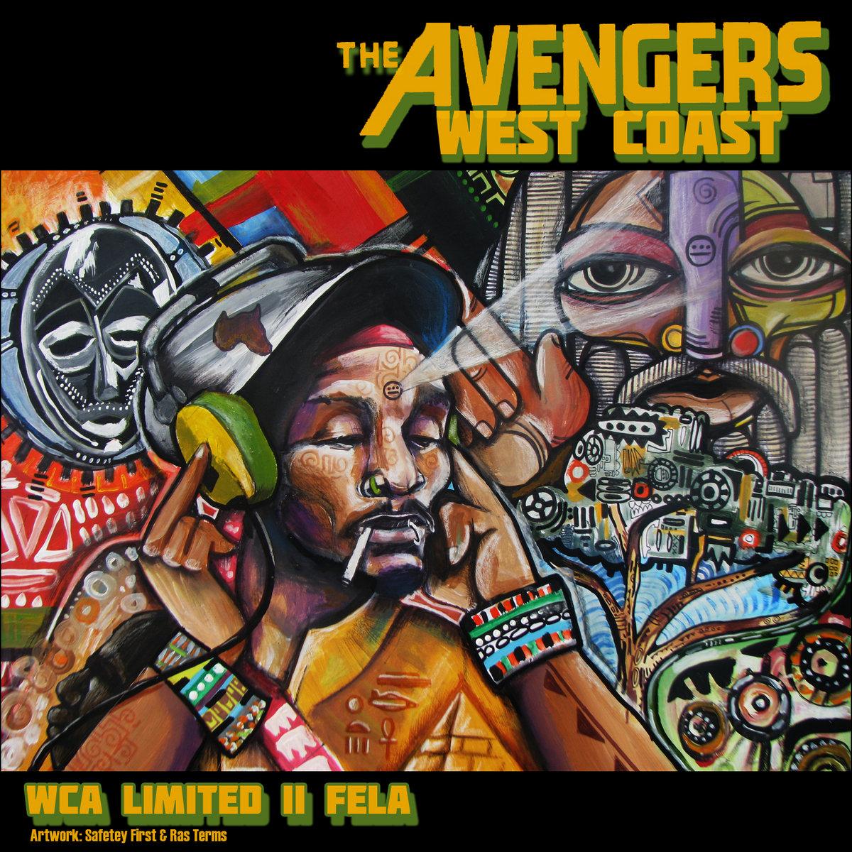 Resultado de imagen para Del Tha Funky Homosapien - West Coast Avengers