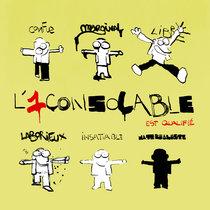 L'1consolable est qualifié cover art