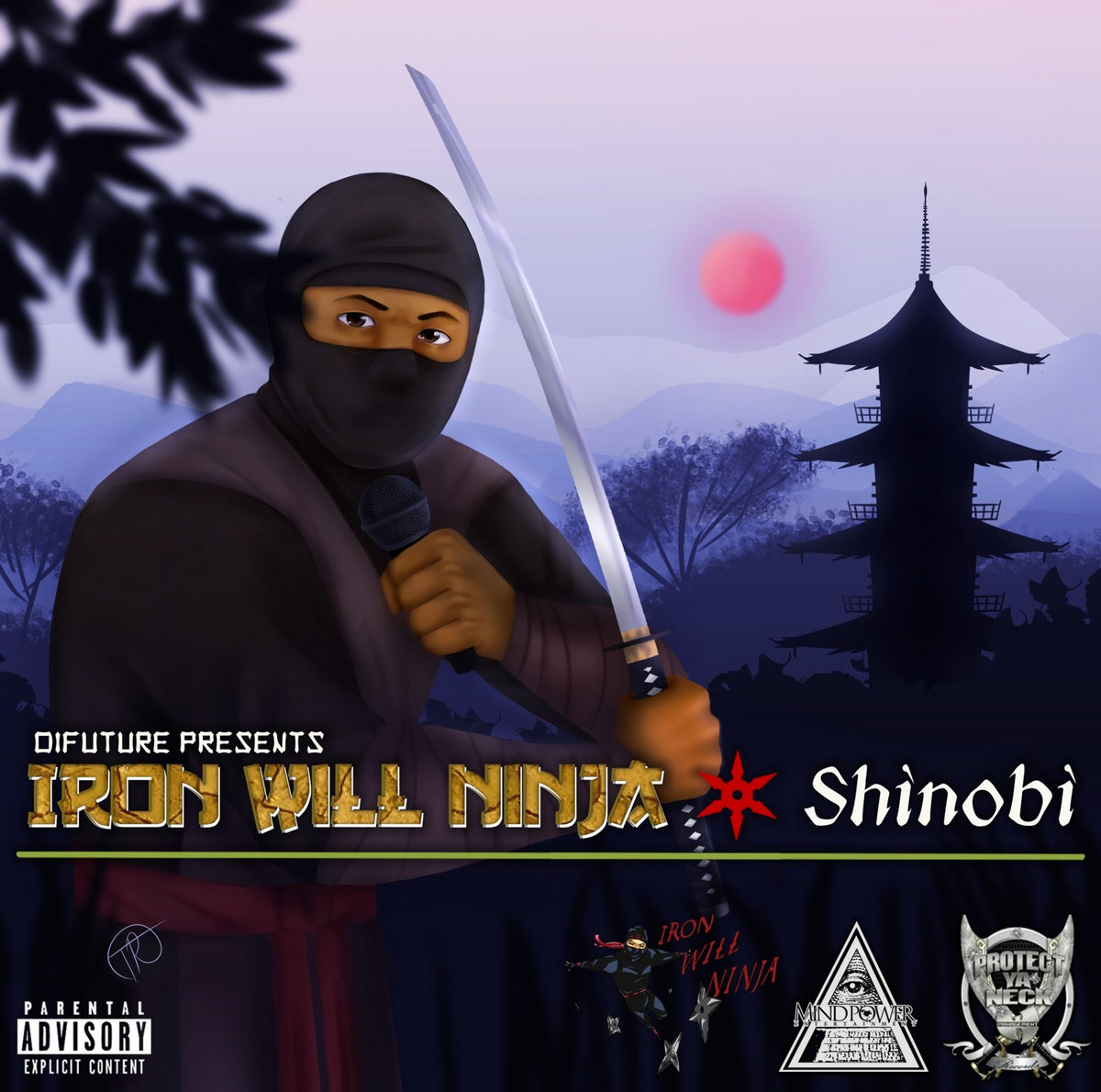 Di Future Presents: Iron Will Ninja Shinobi   Mind Power Ent