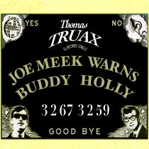 Joe Meek Warns Buddy Holly cover art
