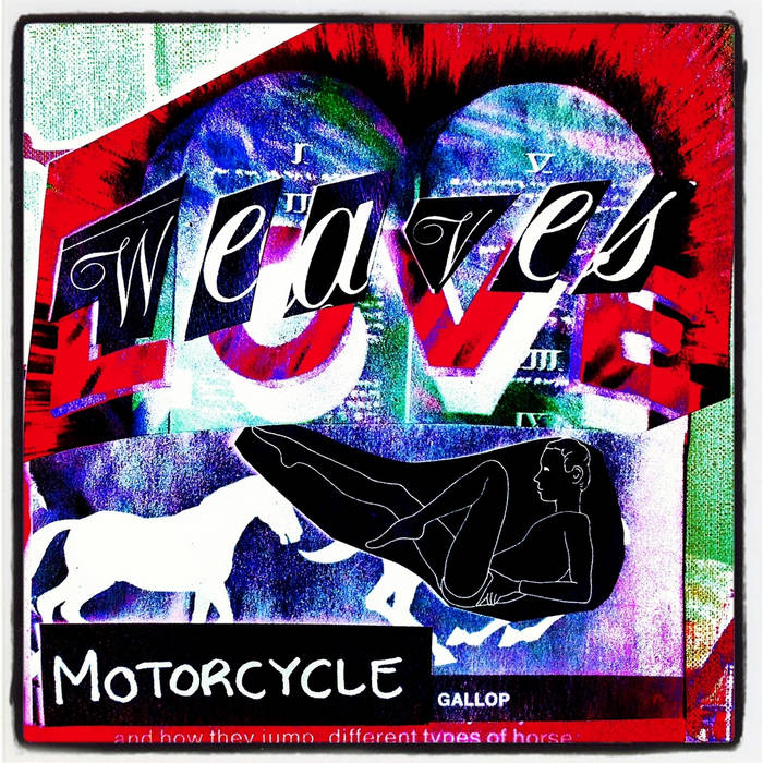Motorcycle cover art