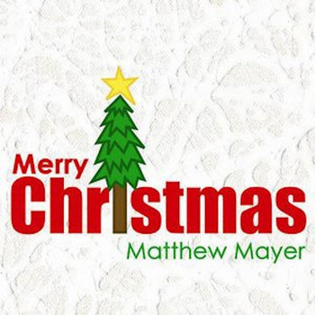 Merry Christmas by Matthew Mayer