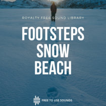 Footsteps Sound Effects   Snow And Seaside Iceland cover art
