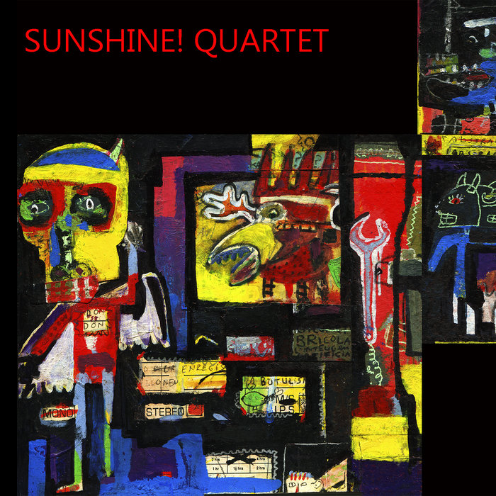 Sunshine! Quartet - 59CD, by Archer / Mwamba / Bennett / Fairclough