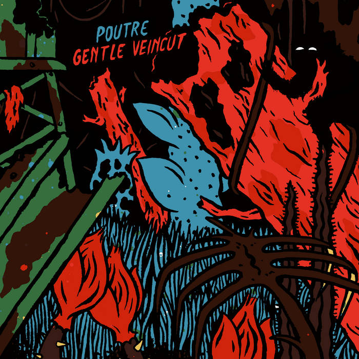 Split Poutre/Gentle Veincut cover art