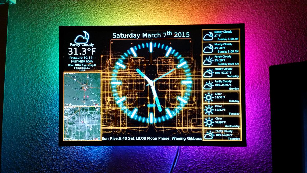 Transparent Digital Clock Gadget For Windows 7 Free Download