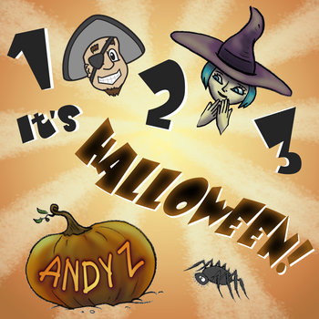 1 2 3, It's Halloween! - EP by Andy Z