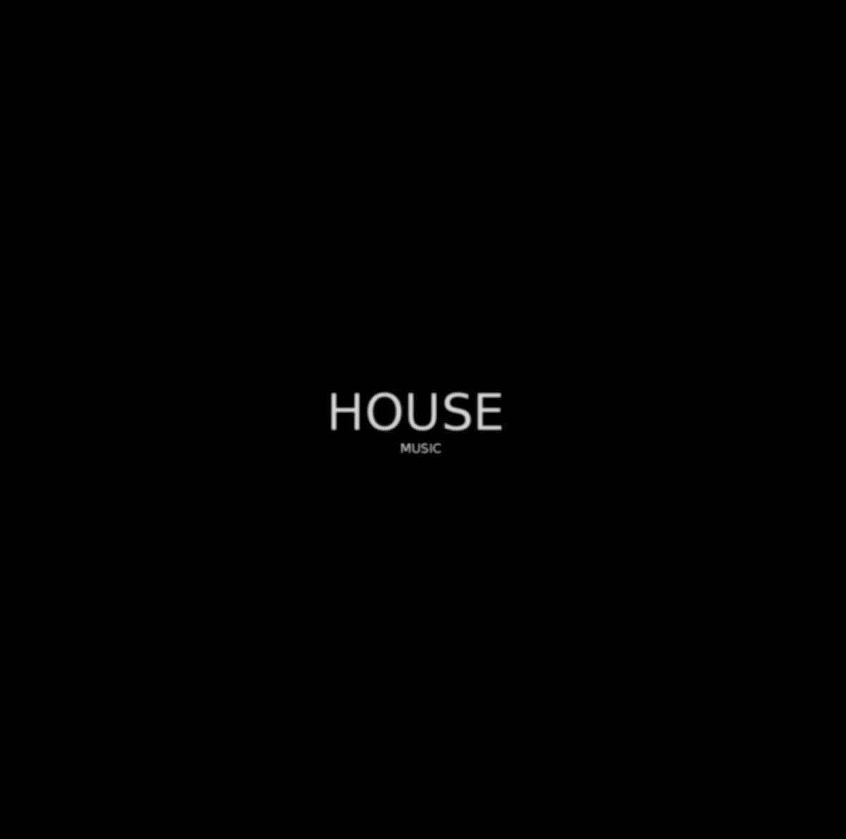 House music todosomosdios for Album house music