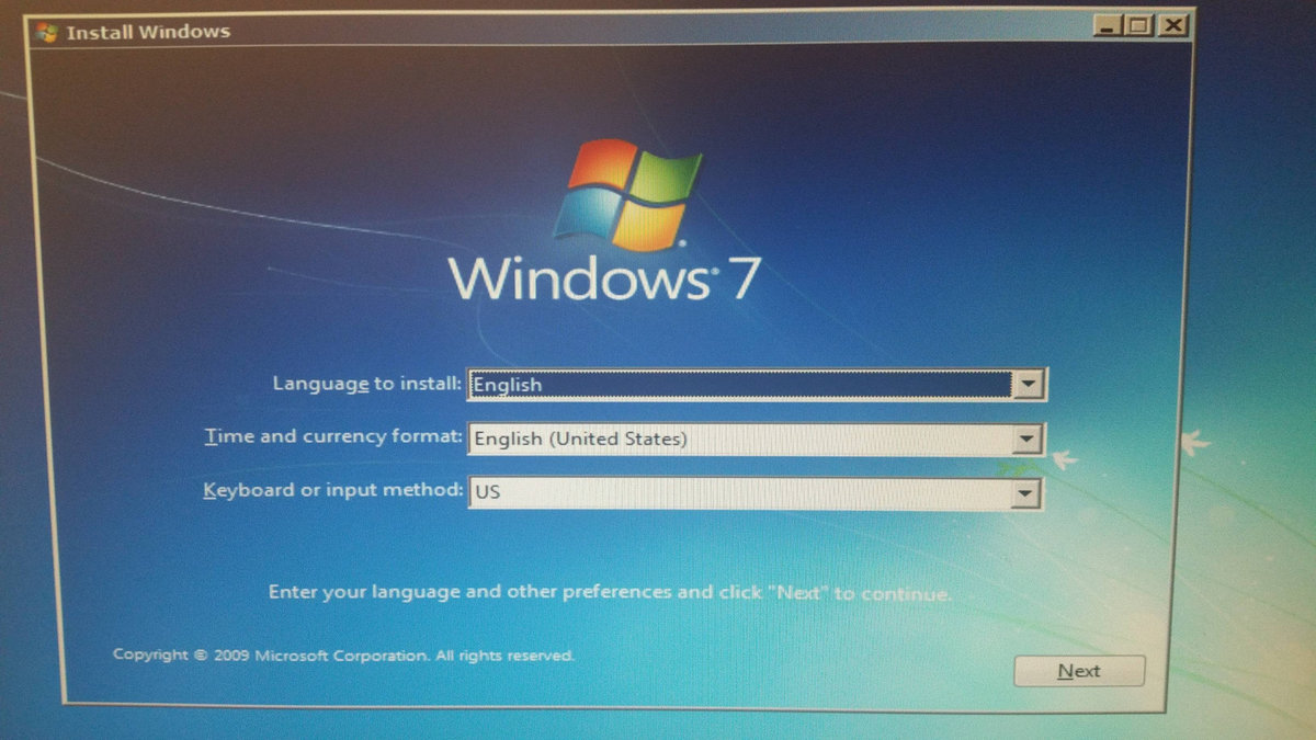 download usb windows 7
