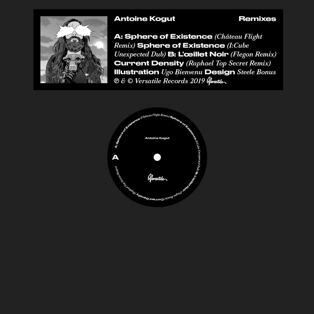 Current Density (Raphaël Top-Secret Remix)   Versatile Records