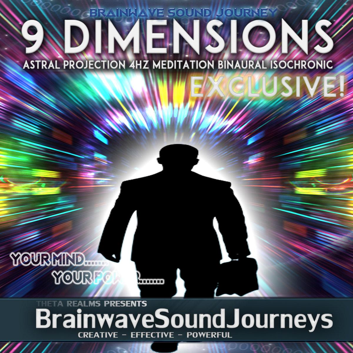 Astral Projection Binaural Beats (POWERFUL & DEEP JOURNEY) Deep