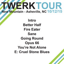 LIVE @ New Mountain - Asheville, NC 10.12.15 cover art