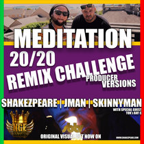 MEDITATION REMIX CHALLENGE cover art
