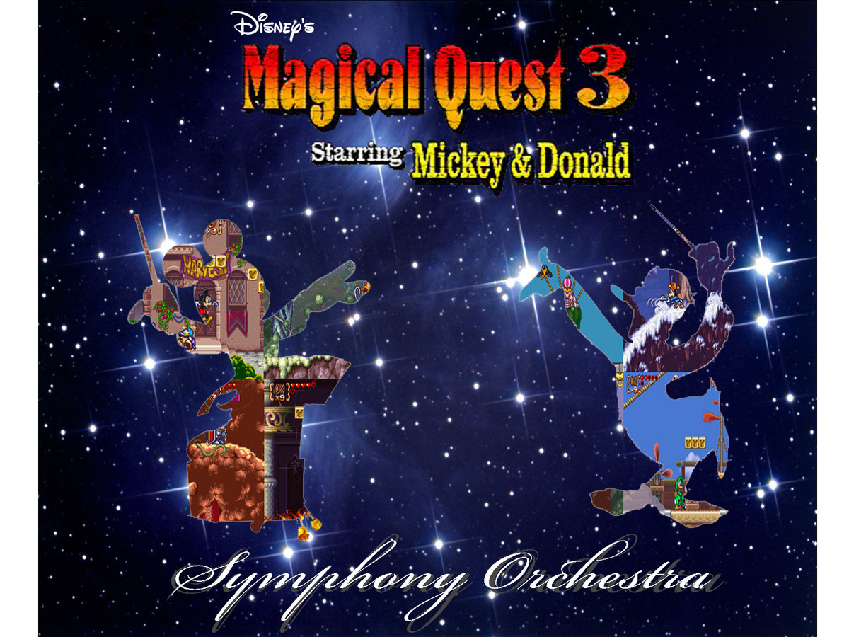 Disney's Magical Quest 3 Starring Mickey and Donald Symphony