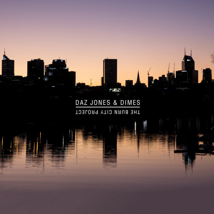 Cover art: The Burn City Project, by Daz Jones & Dimes by