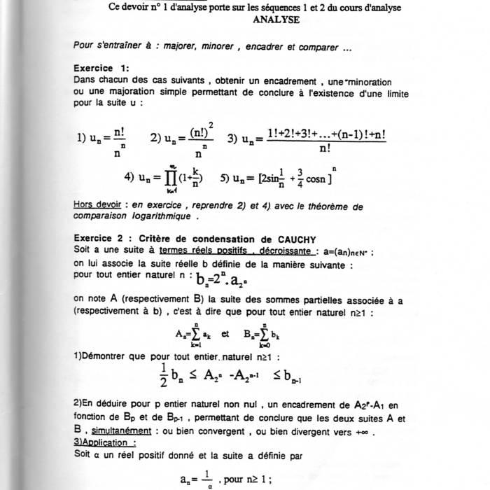 exercices corrigés suites numériques l1 pdf