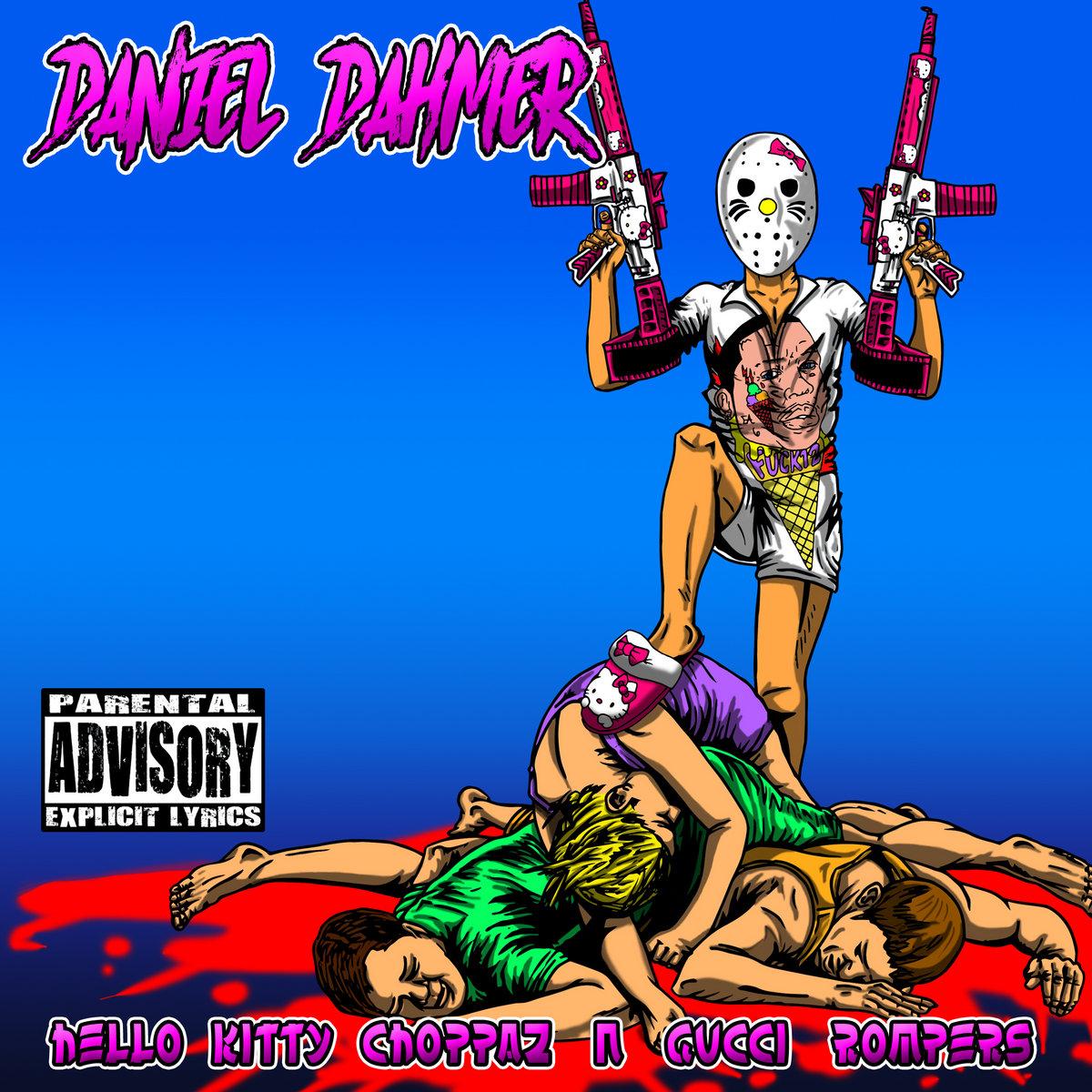Hello Kitty Choppaz N Gucci Rompers by Daniel Dahmer