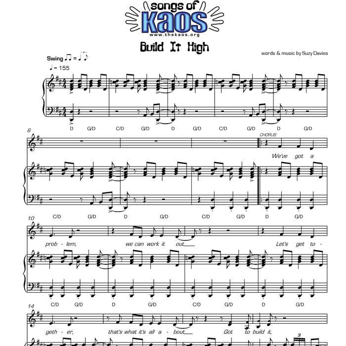 Remember Me Lyrics Sheet Music: The Kaos Signing Choir