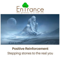 Positive Reinforcement – Stepping stones to the real you cover art