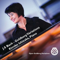 "J.S. Bach: ""Open"" Goldberg Variations, BWV 988 (Piano) cover art"