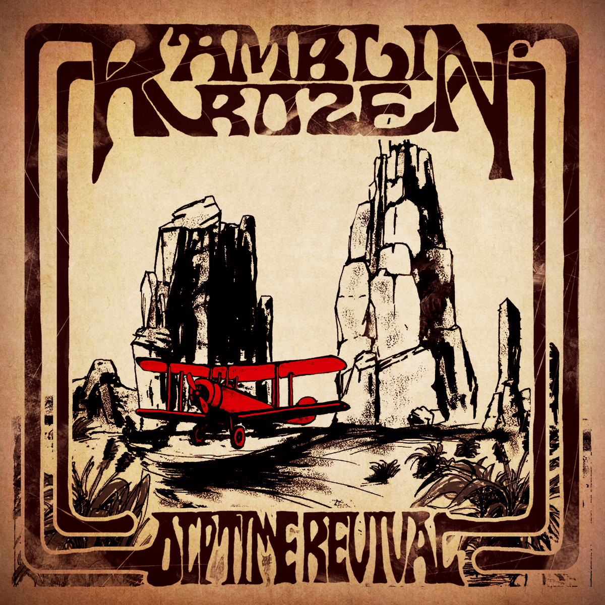 RAMBLIN' ROZE - Old Time Revival (EP) (2019) China