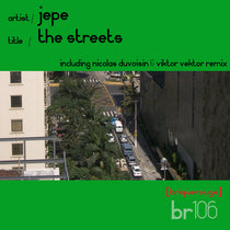 [BR106] : JEPE - The Streets - [2020 Remastered Digital Re-Issue] cover art