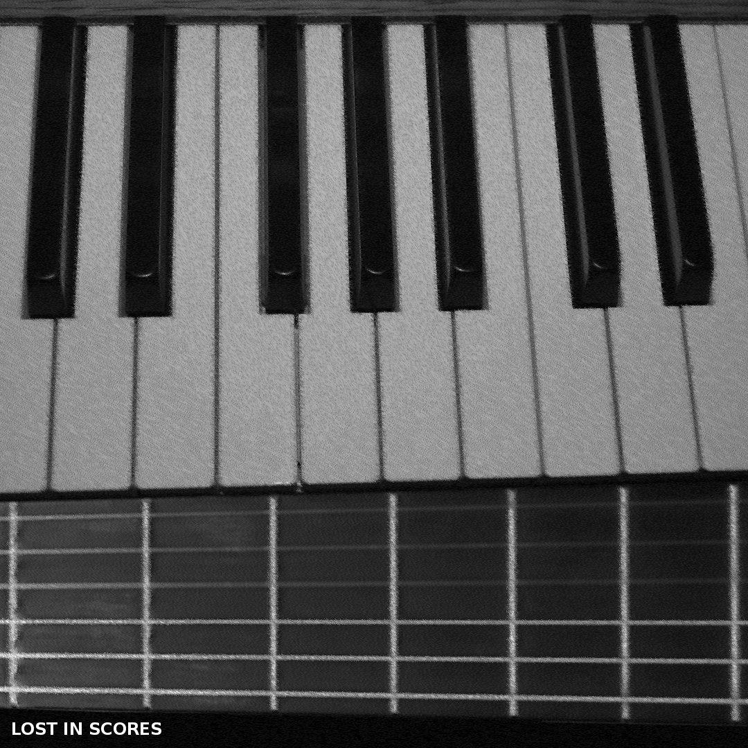 Sad Piano Acoustic Guitar Instrumental Rap Hip Hop Beat | Lost in Scores