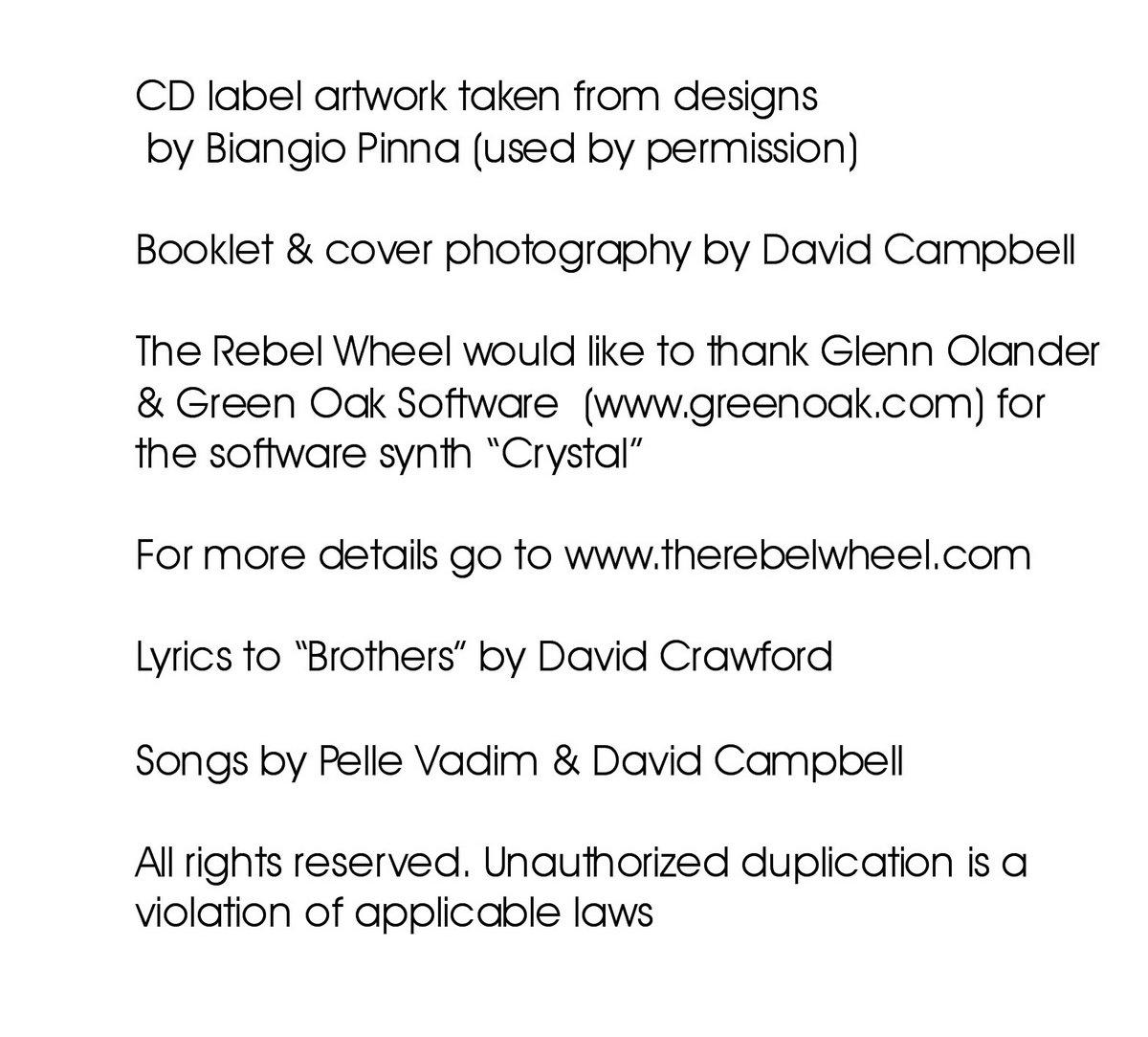 Organ Grinder   The Rebel Wheel