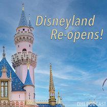 Disneyland Re-opens! cover art