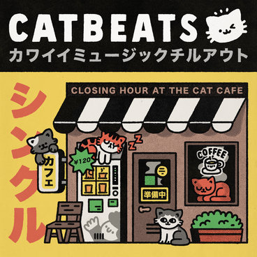 closing hour at the cat café main photo