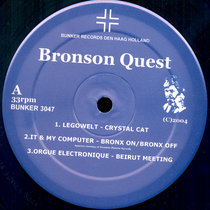 (Bunker 3047) Bronson Quest cover art