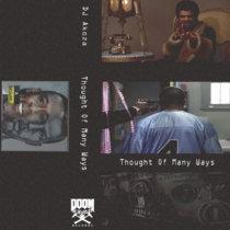 DJ AKOZA - THOUGHT OF MANY WAYS cover art