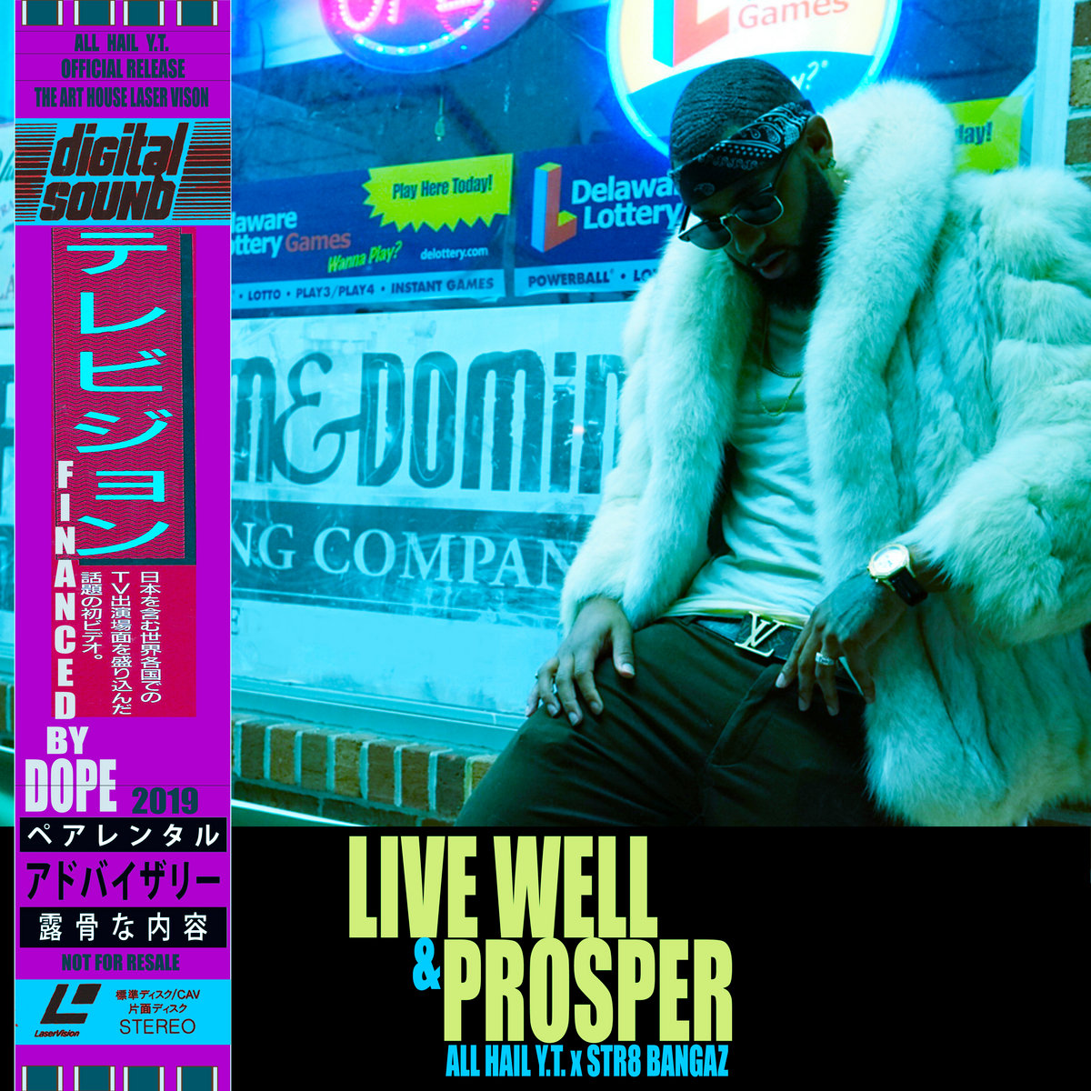 Image result for all hail y.t. live well and prosper album cover