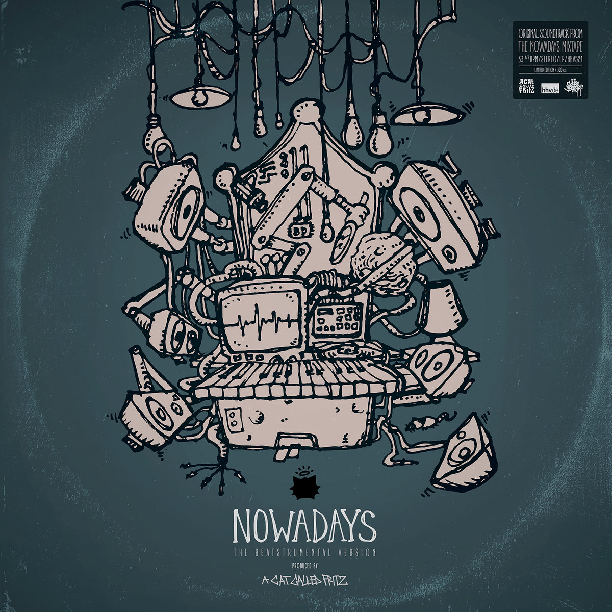 aCatCalledFritz - NOWADAYS The Beatstrumental Version (2016)
