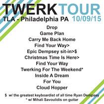 LIVE @ TLA - Philadelphia, PA 10.09.15 cover art